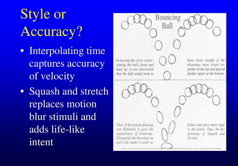 accuracy of velocity Squash and