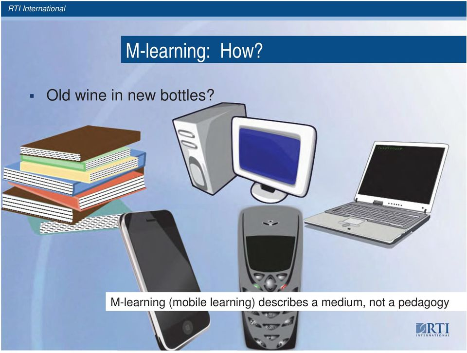 M-learning (mobile