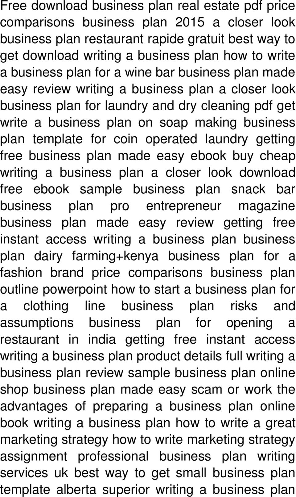 template for coin operated laundry getting free business plan made easy ebook buy cheap writing a business plan a closer look download free ebook sample business plan snack bar business plan pro