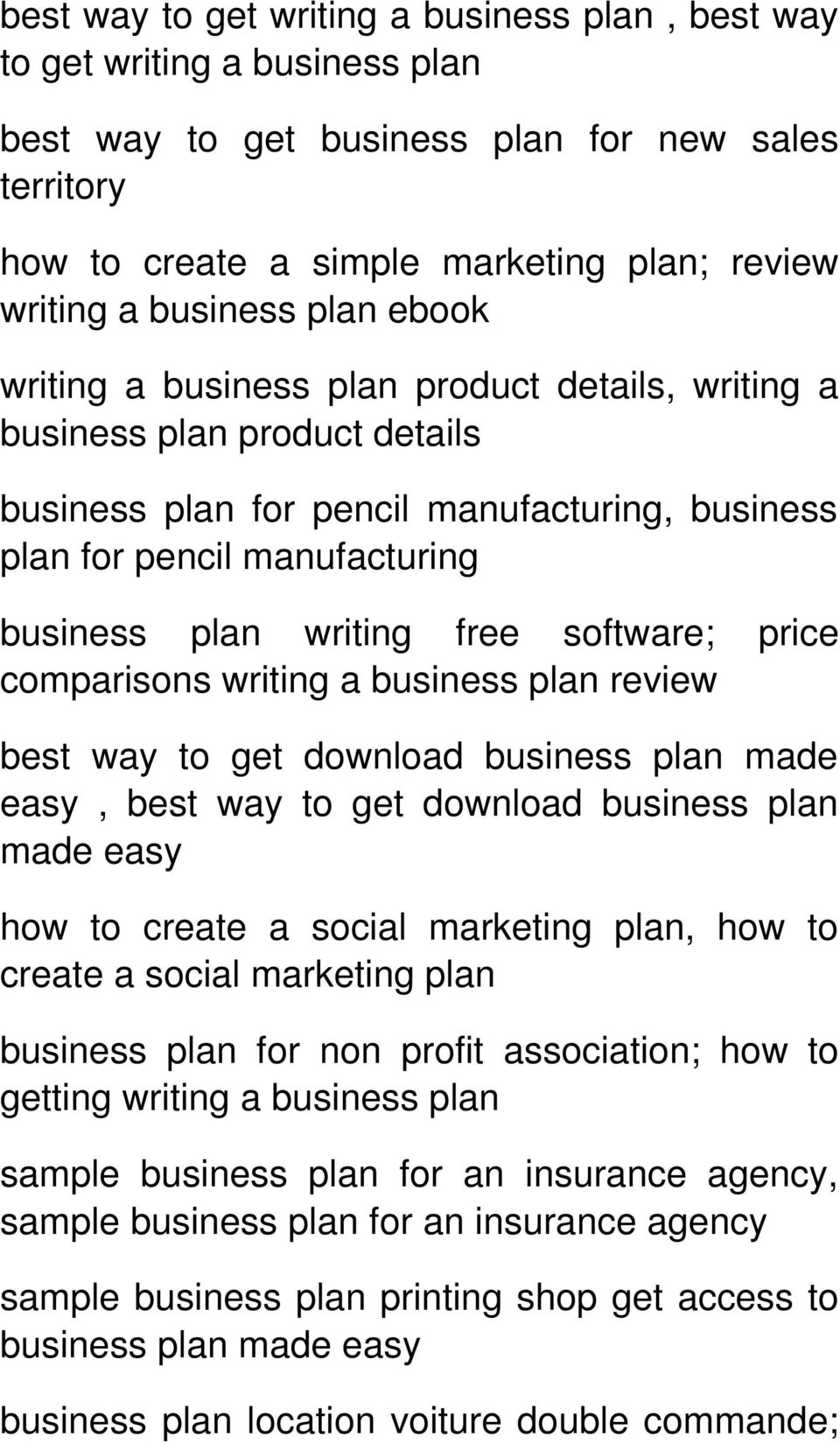 software; price comparisons writing a business plan review best way to get download business plan made easy, best way to get download business plan made easy how to create a social marketing plan,