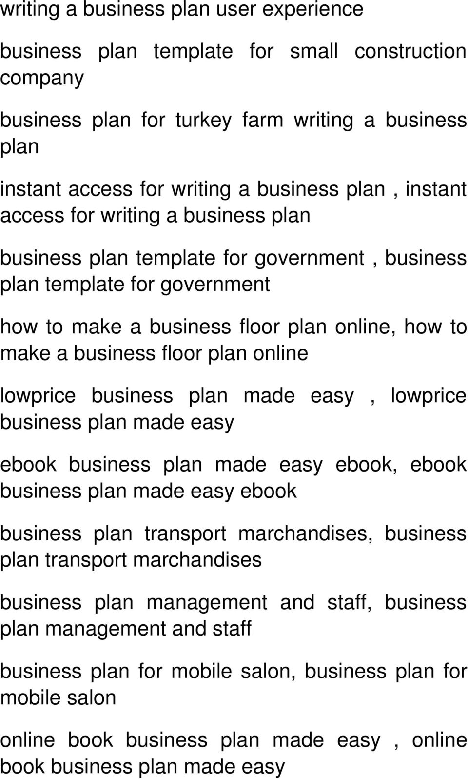 lowprice business plan made easy, lowprice business plan made easy ebook business plan made easy ebook, ebook business plan made easy ebook business plan transport marchandises, business plan