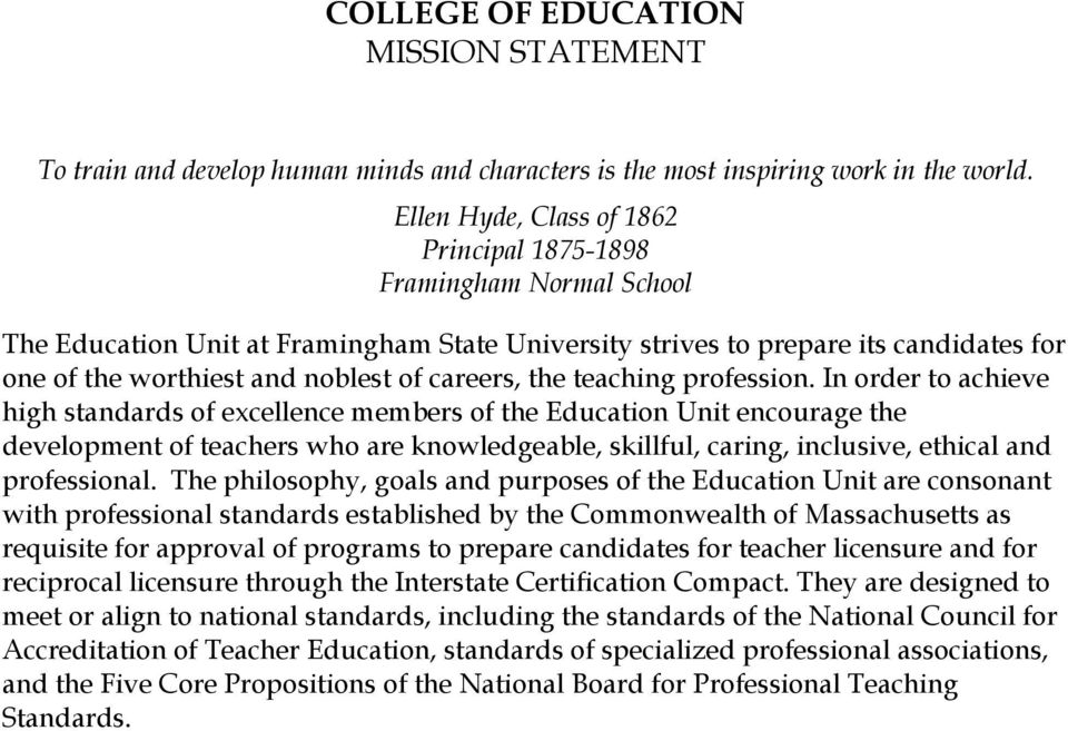 careers, the teaching profession.