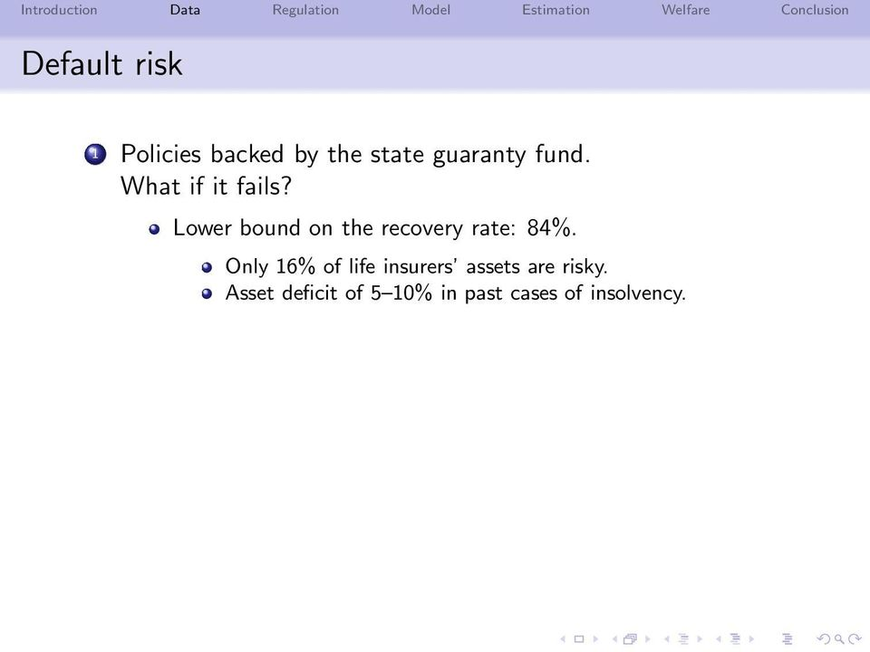 Lower bound on the recovery rate: 84%.