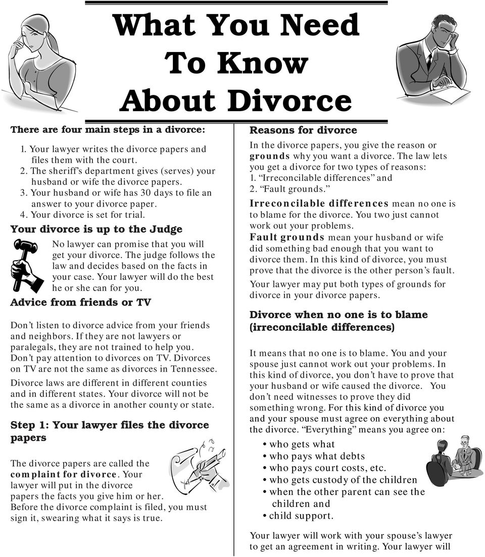 Your divorce is up to the Judge No lawyer can promise that you will get your divorce. The judge follows the law and decides based on the facts in your case.