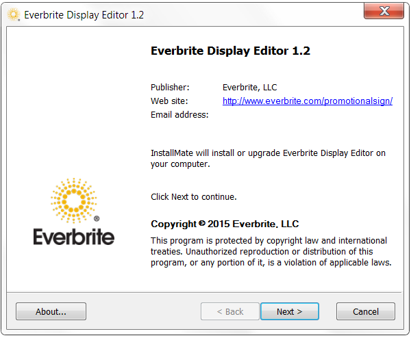1. GENERAL USAGE NOTES The Display Editor software is designed for the Everbrite All-In-One Promotional Sign only. It is not compatible with any other sign.