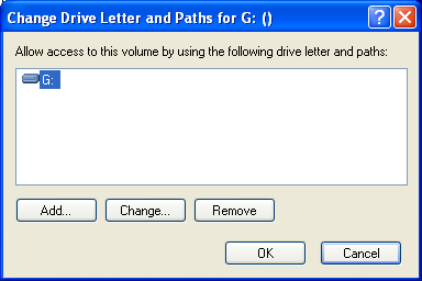 Device Drivers and Drive Letters for Windows 8. Right click and open Change Drive Letters and Paths dialog box. 9.