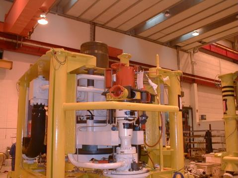 Subsea Production Choke The choke is used to control the production rate and downstream pressure from the well.