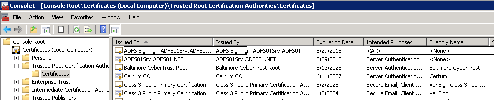 Configuring ADFS 2 0 for Use with DocAve 6  User Guide - PDF