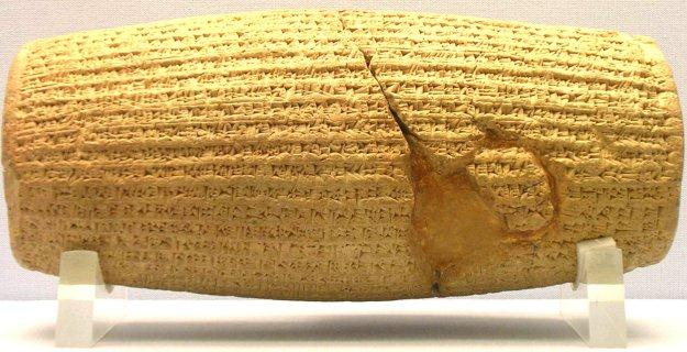 Ancient Greece Greece and Persia Cyrus Cylinder Describes Cyrus the