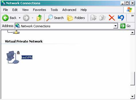 In the Network Connections window, right-click the new connection and select properties. Let s take a look at how you can customize this connection before it s used. 16.