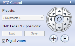 PTZ Control pane shortcut. If neither the pane nor the shortcut is available, check the pane s availability on the Options dialog s Panes tab (see page 68).