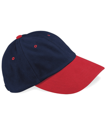 BB57 Beechfield Heavy Brushed Low Profile Cap Black Bright Royal Classic Red French Forest Taupe Forest French Classic Red French Taupe White 100% heavy brushed cotton drill Self fabric strap with