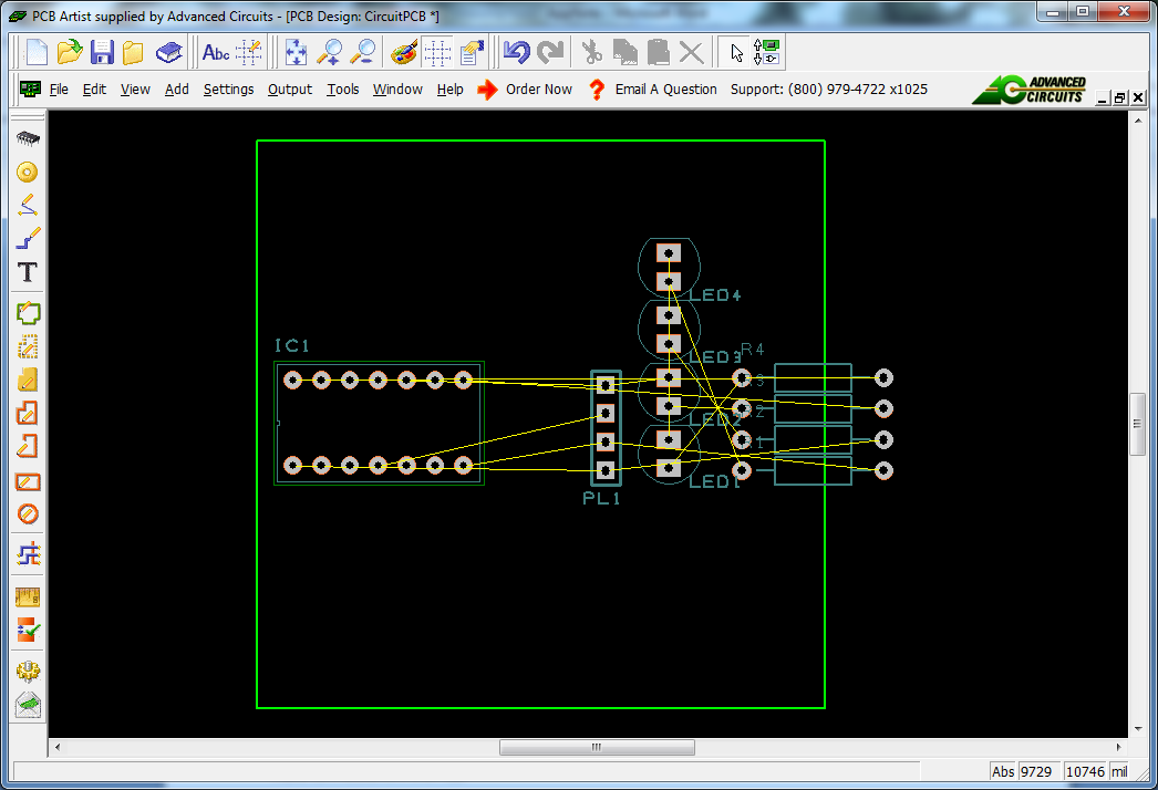 OK on the next confirmation that pops up. Exit out of the Notepads and zoom out in the PCB design window.