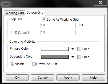 Figure 8 : Grid Scales Figure 9 : Units Next go to Settings -> Styles and match these settings in Figure 10.