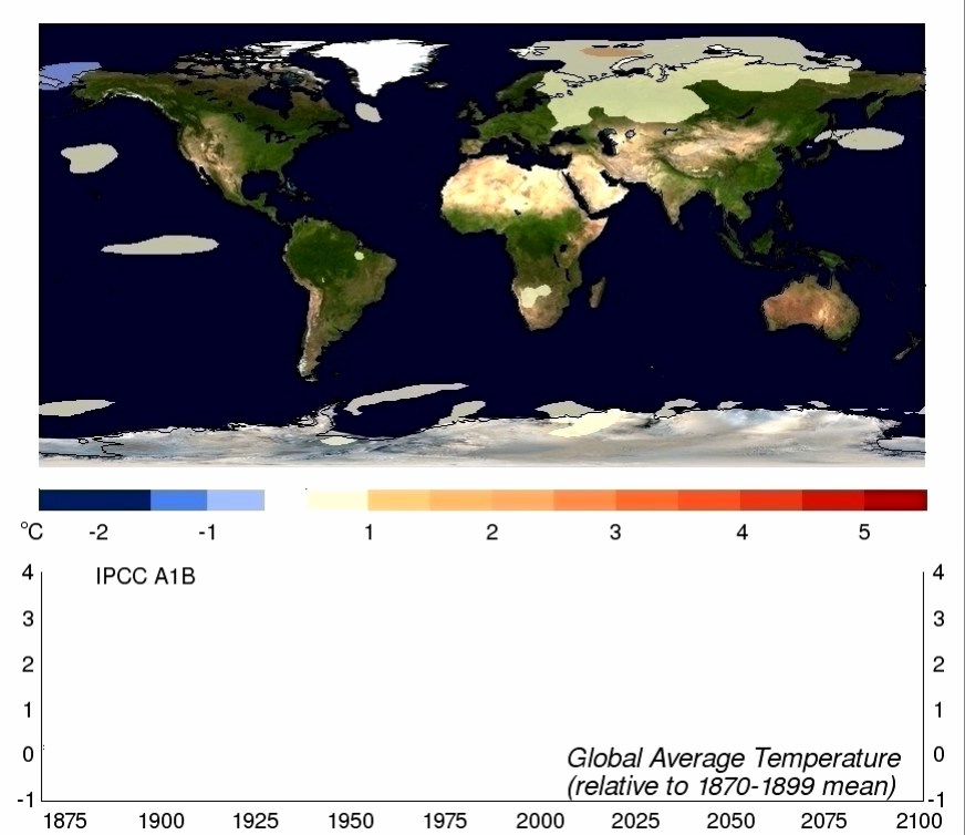 Climate projections Anomalies relative to 1980-99 IPCC Ch. 10,
