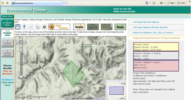 PNDI Environmental Review Tool 2005-2015 First of its kind launched in