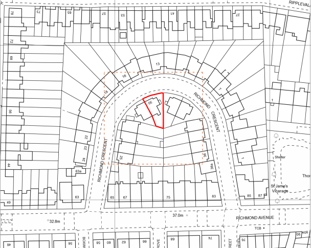 2. SITE PLAN (site outlined in