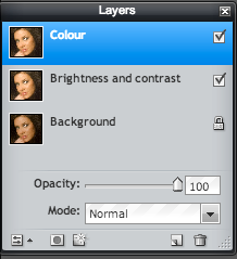 Now, adjust the brightness and contrast by moving the sliders in the window the appears, then click OK.