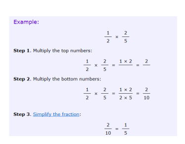 2/5 Divide proper fractions by whole numbers for