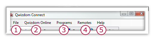 3 OPENING CONNECT To open Connect, double-click the Connect shortcut icon on your desktop. 1. File menu - set preferences, change password, and download state standards. 2.