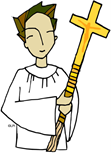 Calling for Altar Servers! Are you in Grade 3 or older? Are you a helpful and giving person? Then our church needs you!
