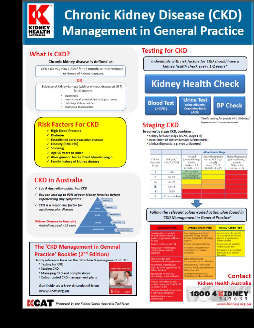 19 Resources CKD management guidelines for general practice Available ...