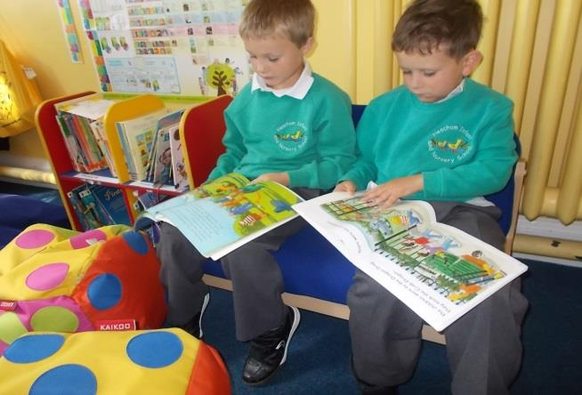 ENGLISH IN KS1 Reading: Emphasis on reading widely for pleasure, re-reading books and reading aloud;