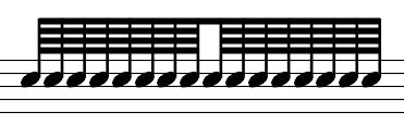 32 nd note (demisemiquaver): 32 nd note rest: 64 th note (hemidemisemiquaver): 64 th note rest: Music notation is very mathematical in its nature. A whole note is twice the value of a half note.
