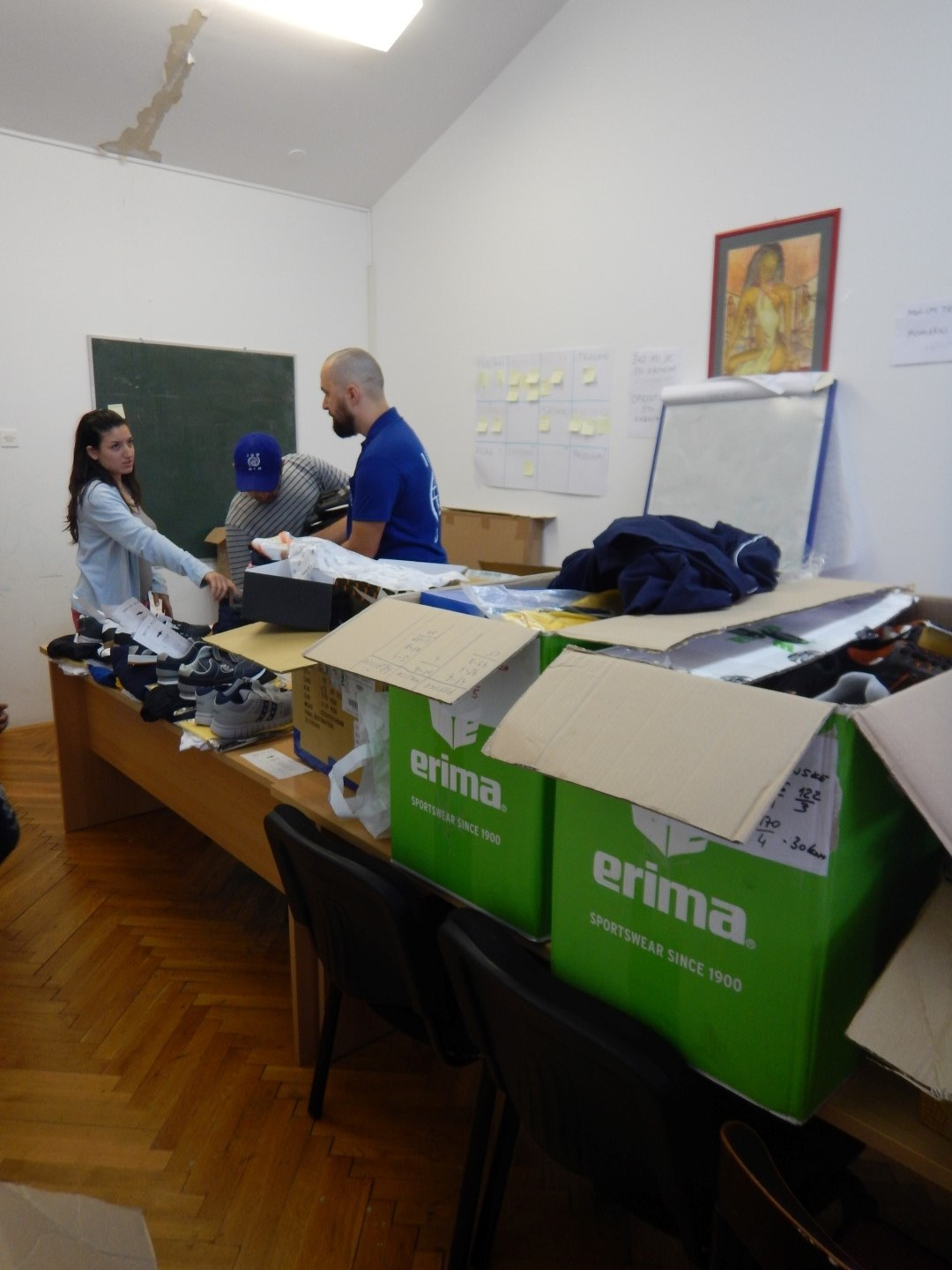 EUROPE / MEDITERRANEAN MIGRATION RESPONSE IOM Response Situation Report 11 Aug 2016 Croatia IOM continues to deliver English and Croatian language classes for migrants and asylum seekers.