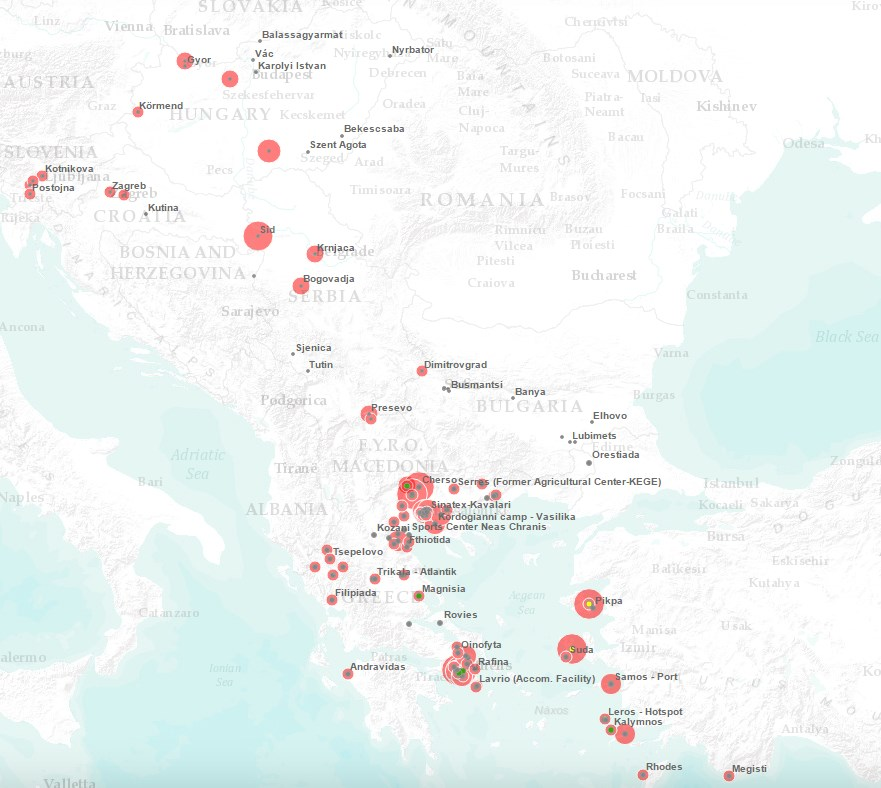 National authorities Hungary 933 Source: IOM and National authorities Bulgaria 2,925 Estimated stranded migrants as of 04 August Source: Government This map is for illustration