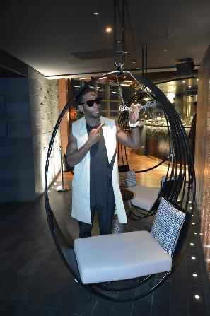 Tinie Tempah Video Shoot British rapper and hip-hop star, Tinie Tempah featured Mint Leaf of London in a scene on his