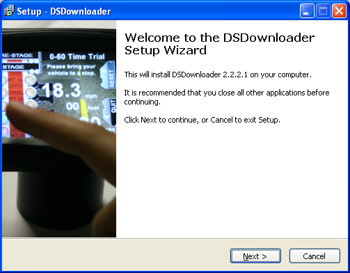 b. The DS Downloader manages the transfer of information from a computer to any Diablosport tool. It is also used if you would like to make copies of a tune, or load a custom tune onto the Predator.