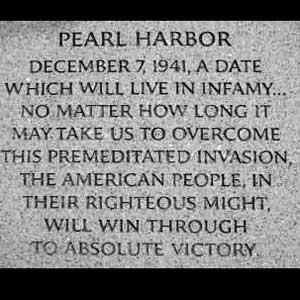 U.S. Enters the Fight FDR s Speech after Pearl Harbor Yesterday, Dec.