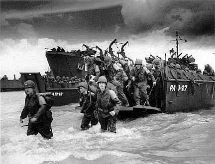 D-DAY JUNE 6, 1944 D-Day was the largest land-sea-air operation in military history. Despite air support, German retaliation was brutal especially at Omaha Beach.
