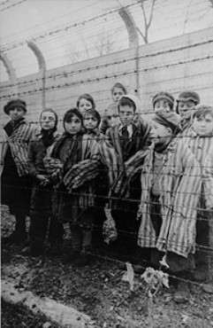 LIBERATION OF DEATH CAMPS While the British and Americans moved westward into Germany, the Soviets moved eastward into German-controlled Poland.