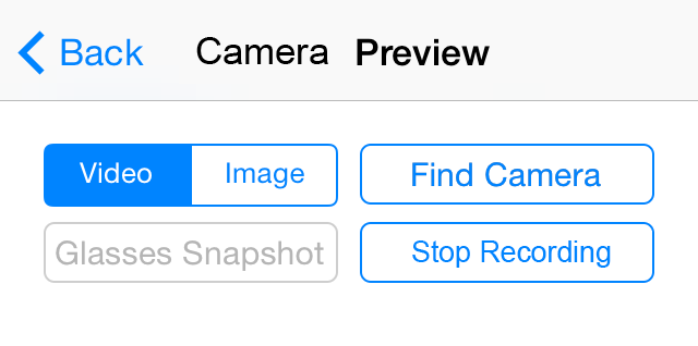 8. Click Camera Preview to see the menu pictured below. 9.