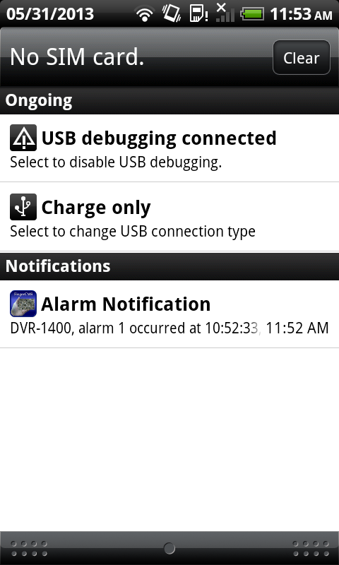 3. Operations Run Tap TapCMS(HD) icon ( ) to run the TapCMS(HD) in your Android mobile phone/tablet.