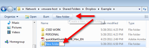 Step 4 Your Dropbox - File Organisation and Automatic Back Up Your Dropbox folder has the same function of any folder on your computer; you can use it to save files, drag and drop files, rename files