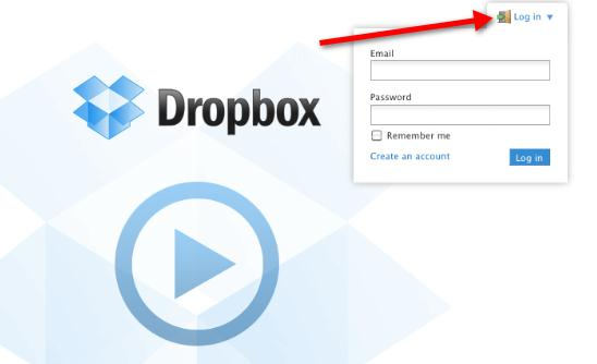 Step 5 Dropbox Web Access A copy of your files is stored on the Dropbox website.