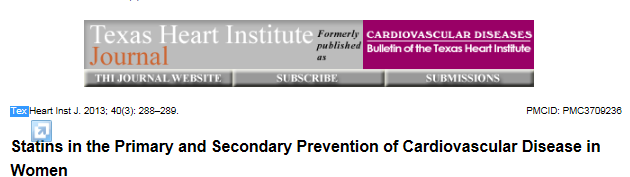 In summary, for primary prevention, statin therapy reduces major CVD events in