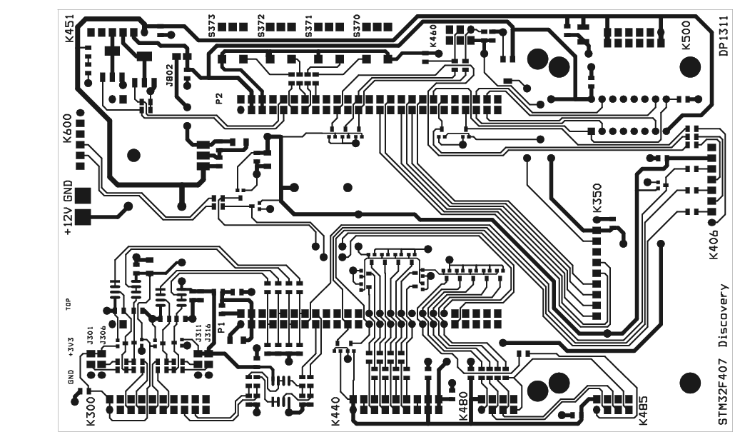 The STM32F4-Discovery BaseBoard 10
