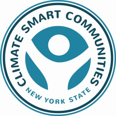 NYS Climate Smart Communities (CSC) Program The goal of the CSC Program is to: o o o Reduce greenhouse gas emissions Prepare for the impacts of climate change Save taxpayers money Climate Smart