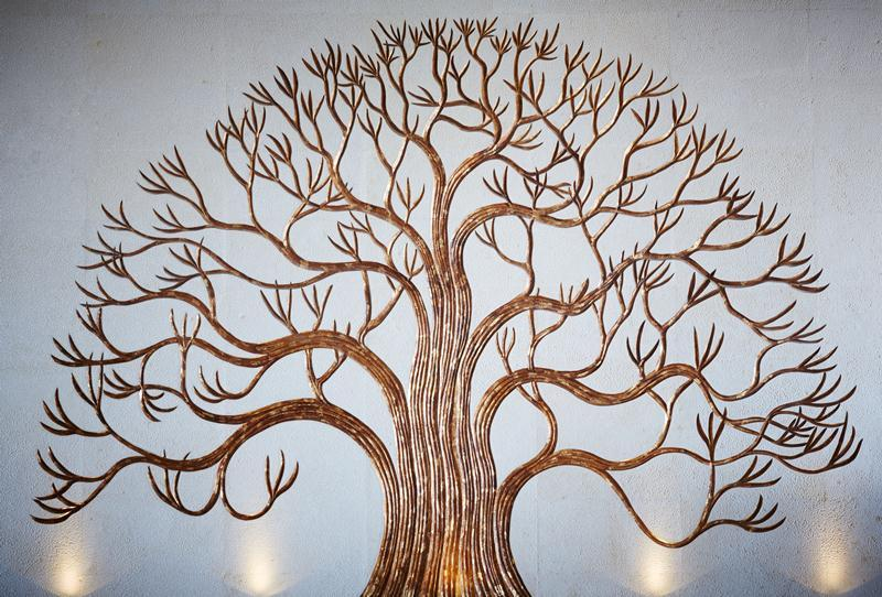 Our Scenography Kalpataru, The Tree of Life. It symbolizes wisdom, protection, strength, bounty, beauty, and redemption.