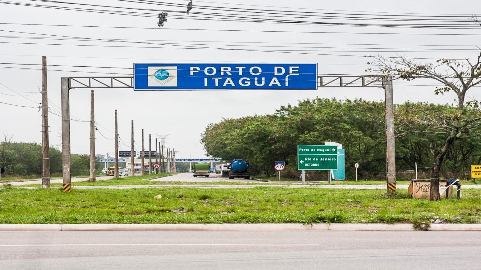 ROAD ACCESS Metropolitan Bypass access: Port of Itaguaí: Ground zero of the