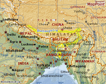 Begins in the Himalaya mountains Joins with the Ganges to form HUGE delta The Brahmaputra