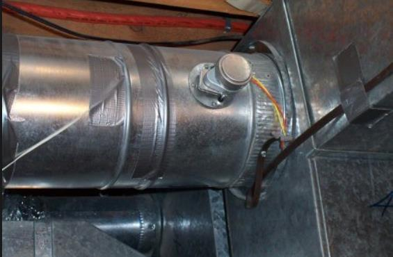 Heating Efficiencies Fabric tape is not approved in the BCBC for this application In