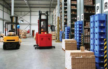 RFID Inventory Management PALLETS APPLICATION Tag pallets and pallet-rack slots Automatically capture the location of pallets when put away by associating pallet and pallet rack tag numbers in the