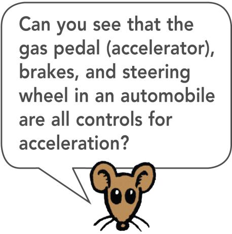 4.4 Acceleration A car is accelerating