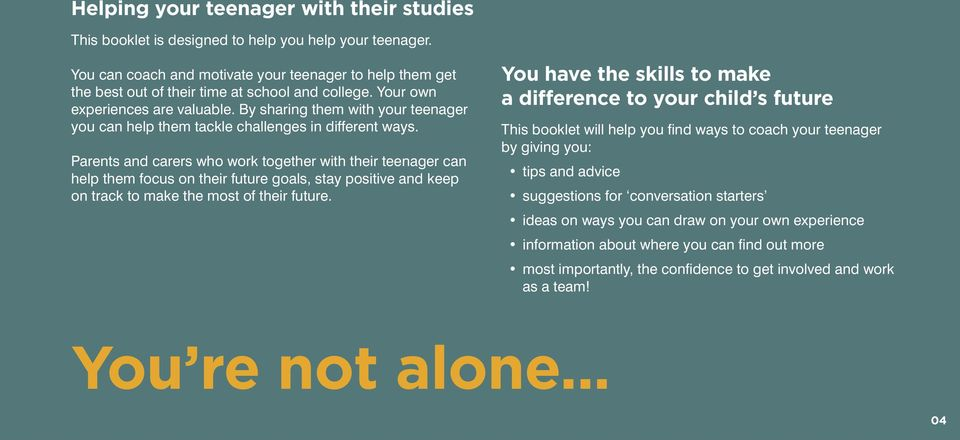 By sharing them with your teenager you can help them tackle challenges in different ways.