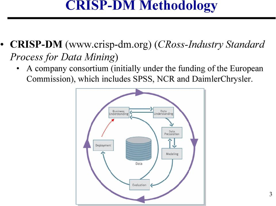 company consortium (initially under the funding of the